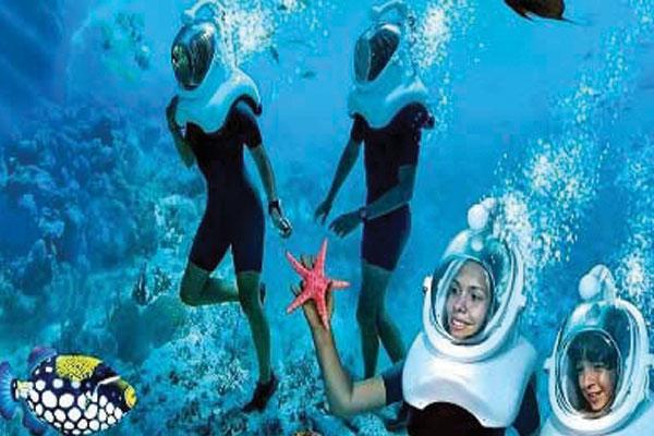 #1 of Top 11 Water Sports in the Andaman Islands: Underwater Sea Walking