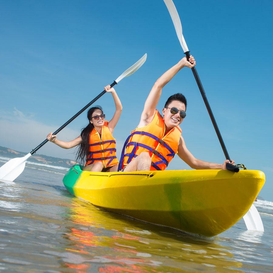 Banana Boat Ride in Port Blair (North Bay Island)