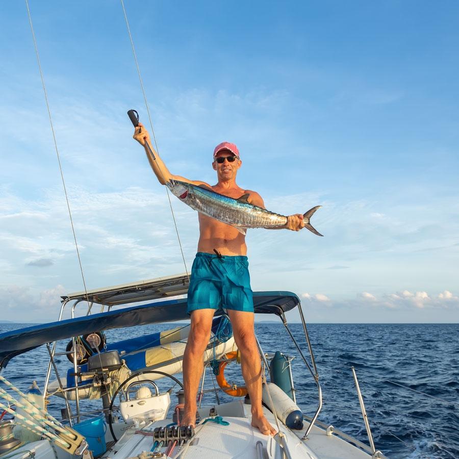 Game Fishing at Cinque Island